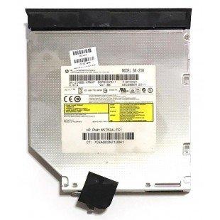 *Б/У* Привод DVD/RW + крышка привода для ноутбука HP Compaq Presario CQ57 (646126-001), с разбора
