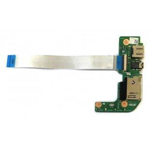 *Б/У* Плата расширения USB + Audio + Card Reader для ноутбука Asus X554L, X555L, с разбора