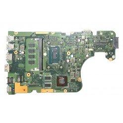 *Б/У* Материнская плата для ноутбука Asus X554L, X555L (60NB08I0-MB1K00) [BUR0093-9], с разбора, неисправная