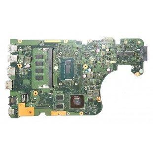 *Б/У* Материнская плата для ноутбука Asus X554L, X555L (60NB08I0-MB1K00), с разбора, неисправная