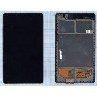 Сборка (матрица  + тачскрин) для планшетов Asus Google Nexus 7 2nd gen. (2013) ME571, с рамкой [T0808]