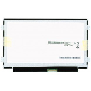 """Матрица 10.1"""" slim B101AW06 v.1 (LED, 1024x600, 40pin, справа снизу на доп.панели, глянцевая) [m10102-5]"""