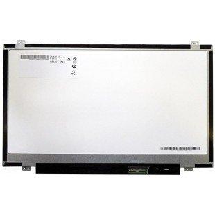 """Матрица 14"""" slim B140RW02 V.0 (LED, 1600*900, 40 pin, справа снизу, глянцeвая)"""
