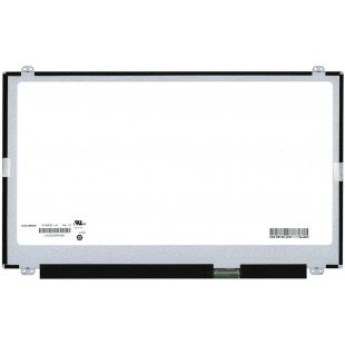 """Матрица 15.6"""" slim N156BGE-L41 (LED, 1366x768, 40 pin, справа снизу на доп. панели, глянцeвая)"""