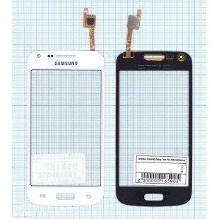 Сенсорное стекло (тачскрин) Samsung Galaxy Core Plus SM-G350 белое