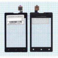 Сенсорное стекло (тачскрин) Sony Xperia E / E Dual C1505/C1605 черное