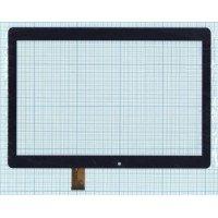 Сенсорное стекло (тачскрин) для Digma Plane 1601, Optima 1105S 4G (ZJ-10036B), черное [T0145-4]