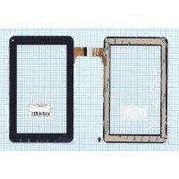 Сенсорное стекло (тачскрин) China Tab 7.0'' FX-86V-F-V2.0 (186*111 мм) (черный)