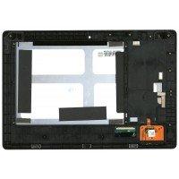 Модуль (матрица HJ101IA-01I + тачскрин) Lenovo IdeaTab S6000 с рамкой черный