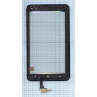 Сенсорное стекло (тачскрин) ZTE Blade GF3 черное