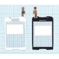 Сенсорное стекло (тачскрин) Samsung Galaxy Mini GT-S5570 белое