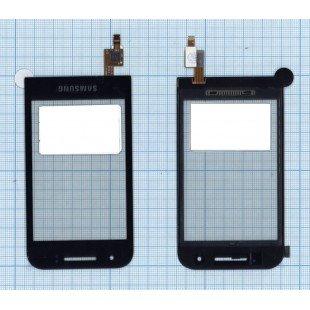 Сенсорное стекло (тачскрин) Samsung GT-S5820 черное