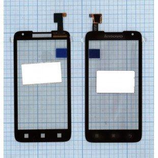 Сенсорное стекло (тачскрин) Lenovo A526 черное