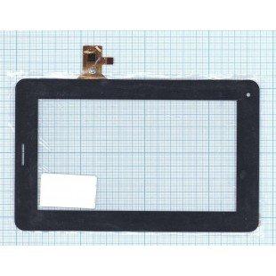 Сенсорное стекло (тачскрин) FM704201TE черное