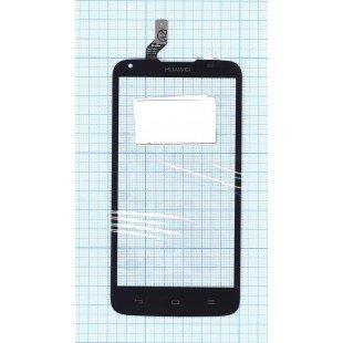 Сенсорное стекло (тачскрин) Huawei Ascend G710 черное