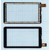Сенсорное стекло (тачскрин) FPC-CY070171(K71)-00 черное [T00101-17]