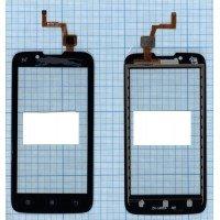 Сенсорное стекло (тачскрин) Lenovo A328 черное