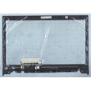 Сенсорное стекло (тачскрин) Lenovo 15,6 MCF-156-0751-V3.0 черный с рамкой
