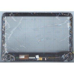 Сенсорное стекло (тачскрин) Dell Inspiron 15R-3521 черное с рамкой
