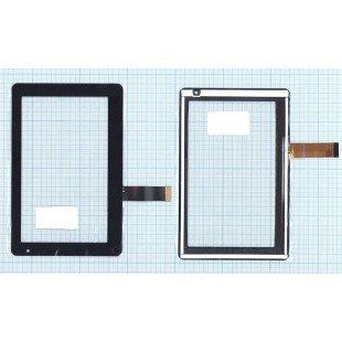 Сенсорное стекло (тачскрин) HLD-PG709S черное