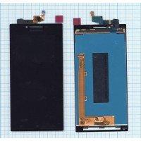 Модуль (матрица + тачскрин) Lenovo P70 черный [6379]
