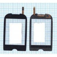 Сенсорное стекло (тачскрин) Samsung Corby GT-S3650 черное