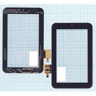 Сенсорное стекло (тачскрин) Oysters T7d 3G черный