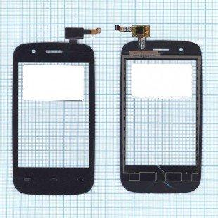 Сенсорное стекло (тачскрин) Explay N1 черное