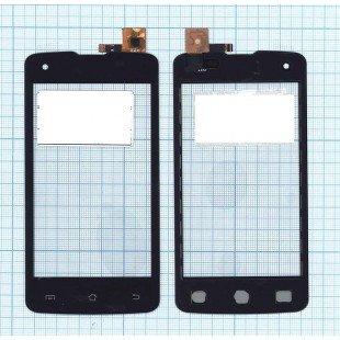 Сенсорное стекло (тачскрин) DNS S4006 черный