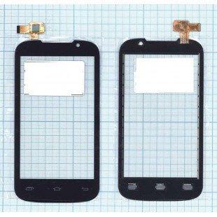 Сенсорное стекло (тачскрин) Prestigio MultiPhone 3400 DUO черный