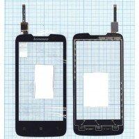 Сенсорное стекло (тачскрин) Lenovo A820 черное