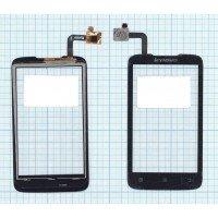 Сенсорное стекло (тачскрин) Lenovo A316i черное
