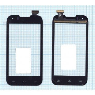 Сенсорное стекло (тачскрин) Explay Advance TV черное