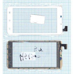 Сенсорное стекло (тачскрин) Explay Tab mini белое