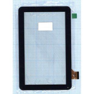 Сенсорное стекло (тачскрин) FM102101KA черное