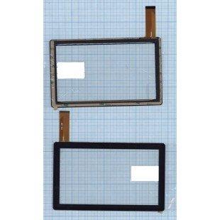 Сенсорное стекло (тачскрин) HN-Q8 черное