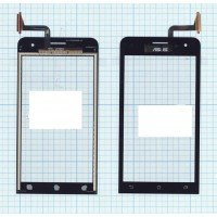 Сенсорное стекло (тачскрин) Asus ZenFone 5 черное