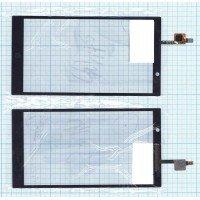 Сенсорное стекло (тачскрин) HP Slate 6 VoiceTab 2 черное