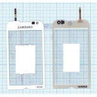 Сенсорное стекло (тачскрин) Samsung Omnia 2 GT-I8000 белое