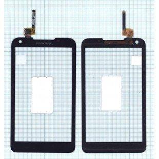 Сенсорное стекло (тачскрин) Lenovo S880 черное