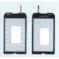 Сенсорное стекло (тачскрин) Samsung Omnia 2 GT-I8000 черное