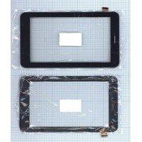 Сенсорное стекло (тачскрин) Oysters 7X 3G черный с рамкой