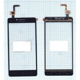 Сенсорное стекло (тачскрин) Lenovo A6000 A6010 черное
