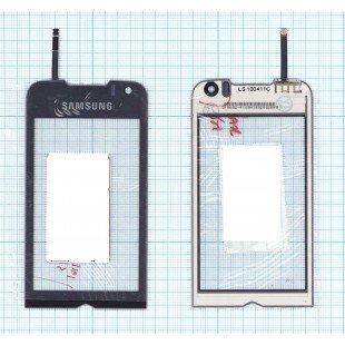 Сенсорное стекло (тачскрин) Samsung Jet GT-S8000 фиолетовое