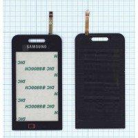 Сенсорное стекло (тачскрин) Samsung Star TV GT-I6220 черное