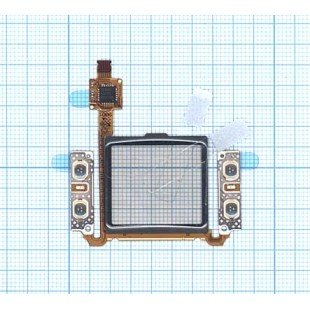 Сенсорное стекло (тачскрин) Samsung S7330 черное