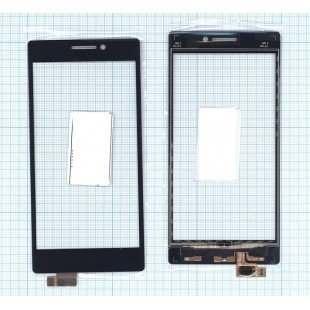 Сенсорное стекло (тачскрин) Lenovo Vibe X2 черное