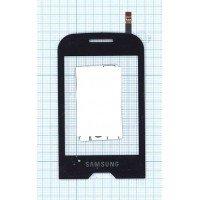 Сенсорное стекло (тачскрин) Samsung Diva GT-S7070 черное