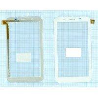 Сенсорное стекло (тачскрин) PG70086B1_FPC белое