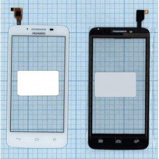 Сенсорное стекло (тачскрин) Huawei Ascend Y511 белый